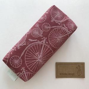 Bicikli mintás papírzsebkendő tartó - Artiroka design, Otthon & Lakás, Tárolás & Rendszerezés, Zsebkendőtartó, Varrás, Meska