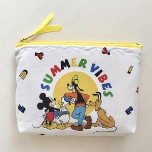 Miki egér és barátai nyári hangulatban mintás irattartó pénztárca  -   Artiroka design - Meska.hu