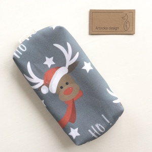 Rudolf a rénszarvas - Karácsony váró zsebkendő tartó - Artiroka design - Meska.hu