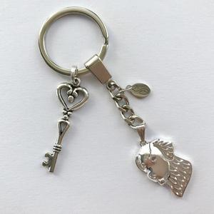 Kutya mintás, golden retriever és bernáthegyi egyedi kulcstartó - Artiroka design, Táska & Tok, Kulcstartó & Táskadísz, Kulcstartó, Hímzés, Ékszerkészítés, Meska