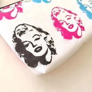 Marilyn Monroe -  tolltartó neszesszer vagy szemüvegtok - Artiroka design - Meska.hu