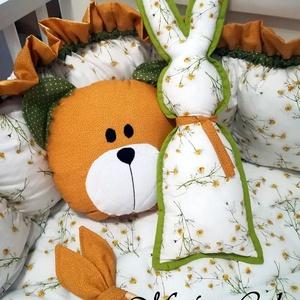 Játszószőnyeg/babaágy betét 2:1 babaváró garnitúra, Játék & Gyerek, Babalátogató ajándékcsomag, babaváró garnitúra tartalma:  gyönyörű, steppelt pihe puha kiságy betét , melyet később játszószőnye..., Meska