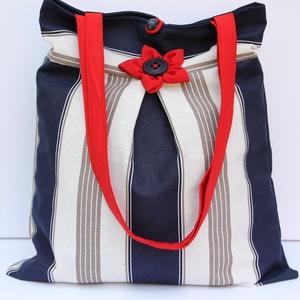 Csíkos táska (meseviragom) - Meska.hu