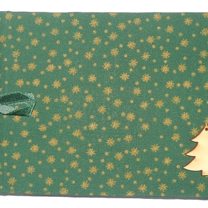 """KÁMA fényképalbumok \""""Karácsonyi aranycsillagos A vagy B\"""", Otthon & Lakás, Papír írószer, Album & Fotóalbum, Könyvkötés, Vászon kötésű fényképalbum dekoratív fém sarkokkal, színes szalaggal átkötve,\n24 db 9×13-as vagy 24 ..., Meska"""