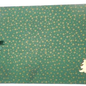"""KÁMA fényképalbumok \""""Karácsonyi aranycsillagos C vagy D\"""", Otthon & Lakás, Papír írószer, Album & Fotóalbum, Könyvkötés, Vászon kötésű fényképalbum dekoratív fém sarkokkal, színes szalaggal átkötve,\nC 12 db 24,5×18,0 cm n..., Meska"""