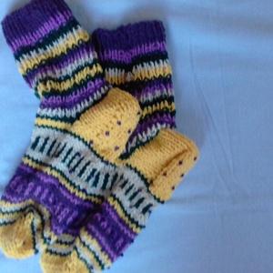 színes zokni - ruha & divat - cipő & papucs - zokni - Meska.hu