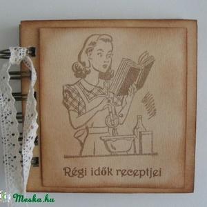 Receptek ..... minden, ami mézes -  együtt sütöttük a nagyinál - receptkönyv gyerekeknek - otthon & lakás - konyhafelszerelés - receptfüzet - Meska.hu