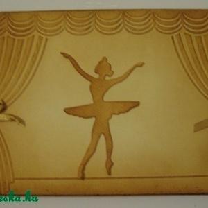 Emlékmegőrző - album - zene , színház, balettkedvelőknek - csoportajándék, Album & Fotóalbum, Papír írószer, Otthon & Lakás, Papírművészet, Zene-, színház- és balettkedvelő barátodnak, autogramgyűjtőknek,  balett(tánc)tanárodnak adhatod ajá..., Meska