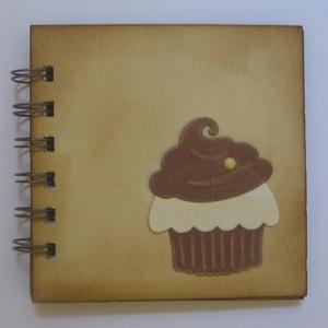 Különleges muffin receptek - lánybúcsú-  születésnap - muffin mintával, Konyhafelszerelés, Otthon & lakás, Receptfüzet, Naptár, képeslap, album, Papírművészet, (Nézz körül Igenigen boltomban is.)\n\nA különleges, egyedi receptjeidet gyűjtheted össze a kis recept..., Meska