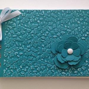 Köszönetalbum  esküvőre, anyák napjára -  jókívánságkönyv lánybúcsúra, vendégkönyv esküvőre,  születésnapra , Vendégkönyv, Emlék & Ajándék, Esküvő, Papírművészet, Dombormintával készült albumom ajánlom bármilyen családi ünnepre - esküvőre vendégkönyvnek, lánybúcs..., Meska