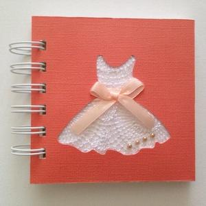 Lánybúcsú - kislány - születésnap - jókívánságkönyv - emlék a jövőnek - örök emlék - családi ünnep - egyedi ajándékötlet, Esküvő, Emlék & Ajándék, Album & Fotóalbum, Papírművészet, Meska
