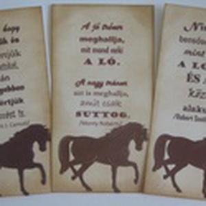 Lovasalbum/napló - lovas képekhez, idézetekhez, élményekhez - rendezvényajándék - csoportoknak, versenyzőknek örök emlék (Milevi) - Meska.hu