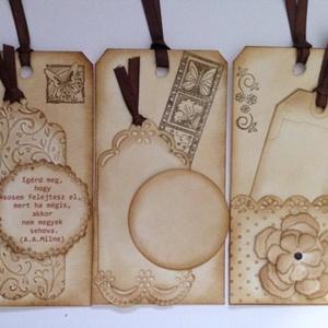 Könyvjelző / emléklap  - vendégajándék - köszönetajándék - gyermekzsúr - könyvtár - cégek - találkozók - versenyek, Naptár, képeslap, album, Otthon & lakás, Könyvjelző, Esküvő, Ballagás, Ünnepi dekoráció, Dekoráció, Papírművészet, Mindenmás, (Sokféle tintázott, natúr és színes könyvjelző / emléklap készült már. Nézz körül eladott termékeim ..., Meska