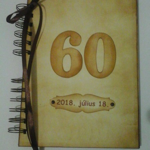 Boldog születésnapot! - emlékmegőrző  album - szülestésnap - házassági évforduló - örök emlék - egyedi termék - évszám, Album & Fotóalbum, Papír írószer, Otthon & Lakás, Papírművészet, Barátok, családtagok, munkatársak részére lehet jókívánságokat írni a naplóba.\n\n.....vagy barátok, c..., Meska