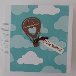 Száljl velem - hőlégballonozás - meglepetésajándék - legénybúcsú - Valentin nap - ballagás - utazás - emlékmegőrzés (Milevi) - Meska.hu