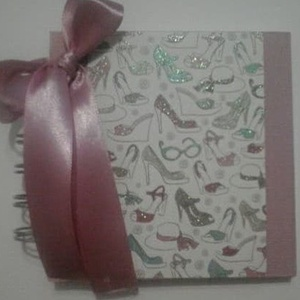 Lánybúcsú - jókívánságkönyv - születésnap  - minialbum - tervek, elképzelések, emlékek, fényképek - örök emlék - egyedi, Album & Fotóalbum, Papír írószer, Otthon & Lakás, Papírművészet, Egyedi mintával készült albumom ajánlom  jókívánságkönyvnek (lánybúcsú, születésnap) és minden olyan..., Meska