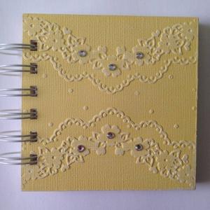 Jókívánságkönyv - kislány születésnap - lánybúcsú -  minialbum  - nyugdíjasbúcsúztató - esküvő - szülőköszöntő album, Otthon & lakás, Naptár, képeslap, album, Jegyzetfüzet, napló, Esküvő, Papírművészet, Ajándékötlet a mindennapokra, fényképek elhelyezésére, kedves gondolatok, idézetek írására szerettei..., Meska