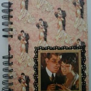 Eljegyzéstől esküvőig - romantikus - vendégkönyv -  jókívánságkönyv - esküvőtervező - emlék a jövőnek - egyedi album, Esküvő, Vendégkönyv, Emlék & Ajándék, Papírművészet, Meska