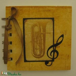 Harsona -  zenekedvelőknek - csoport  - emlékmegőrző album - fellépések tervezése  - autogramgyűjtés, Album & Fotóalbum, Papír írószer, Otthon & Lakás, Papírművészet, Zenekedvelő barátodnak, autogramgyűjtőknek,  zene(ének)tanárodnak adhatod ajándékba az albumot, mely..., Meska