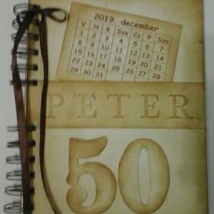 Emlékmegőrző - Boldog születésnapot! - album - születésnapi jókívánságok - fényképek - örök emlék - egyedi termék , Album & Fotóalbum, Papír írószer, Otthon & Lakás, Papírművészet, Barátok, családtagok, munkatársak részére lehet jókívánságokat írni a naplóba.\n\n.....vagy barátok, c..., Meska