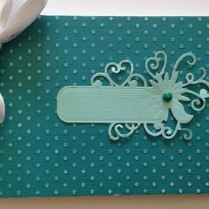 Jókívánságkönyv - vendégkönyv - esküvő - szülőköszöntő album - születésnapi jókívánságok - egyedi termék - örök emlék, Esküvő, Vendégkönyv, Emlék & Ajándék, Papírművészet, Meska
