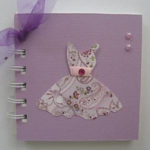 Lánybúcsú - jókívánságkönyv - kislány születésnap  - minialbum - tervek, elképzelések, emlékek, fényképek -egyedi termék, Otthon & lakás, Naptár, képeslap, album, Gyerek & játék, Esküvő, Papírművészet, Egyedi mintával készült albumom ajánlom  jókívánságkönyvnek (lánybúcsú, születésnap) és minden olyan..., Meska