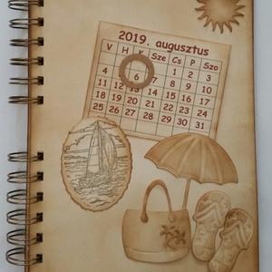 Tengerparti nyaralás - Nászút - Boldog születésnapot! - dátumhoz kötött ünnepek -  emlékmegőrző  - örök emlék - egyedi , Album & Fotóalbum, Papír írószer, Otthon & Lakás, Papírművészet, Egyedi dombor-,vágott- és bélyegzőmintával készült albumom ajánlom születésnapra, tengerpartot kedve..., Meska