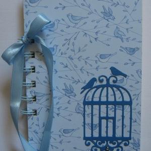 Pillanatok fotói - album/napló - madarak - tematikusesküvő - házassági évforduló - családi ünnepek - emlék a jövőnek, Otthon & Lakás, Album & Fotóalbum, Papír írószer, A múlt megnevettet, a jövőről álmodozhatsz. Tedd a múlt emlékeit és a jövő álmait egy albumba. Írj v..., Meska