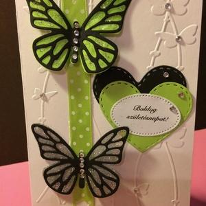Születésnapi képeslap 1. pillangó (Mimizuku) - Meska.hu