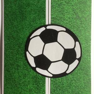 Gól! Focis képeslap, Foci világbajnokság, futball, football, soccer, focista, Képeslap & Levélpapír, Papír írószer, Otthon & Lakás, Decoupage, transzfer és szalvétatechnika, Papírművészet, A Foci Vb ihlette 3D-s képeslapot csináltam decoupage technikával. Középen nyitható, belül egy focis..., Meska