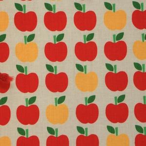 Oviszsák - tornazsák piros almás (Mimmoza) - Meska.hu