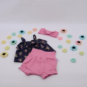 Csillag mintás szett lánykának (újszülött méretben is), Ruha & Divat, Babaruha & Gyerekruha, Babafotózási ruha és kellék, Varrás, Gyönyörű szettek babáknak és pici gyerekeknek\n\nEz a szett tökéletes a nyári melegben és hihetetlenül..., Meska