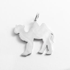 Ezüst teve medál - Minicsiga állatkertje, Ékszer, Medál, Nyaklánc, Egy új, a Minicsiga állatkertje kollekcióm egyik darabja ez a medál. Felnőtteknek, gyerekeknek egyar..., Meska