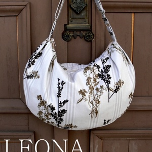 LEONA válltáska szabásminta PDF, Táska, Divat & Szépség, Táska, Varrás, A Leona táska egy nagyméretű, divatos, sok célra használható táska. Arányos, formás méretezése miat..., Meska