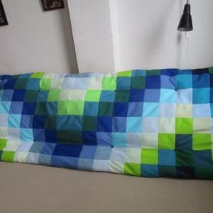 Kék-zöld falvédő (Mintamokus) - Meska.hu