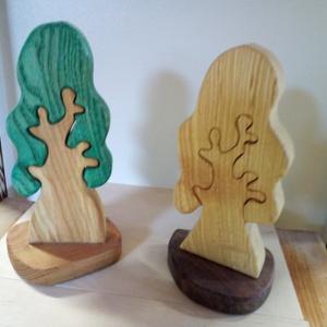 lombos fa, Dekoráció, Otthon & lakás, Játék, Gyerek & játék, Fajáték, Készségfejlesztő játék, Famegmunkálás, Festett tárgyak,  fából készült lombos fa  .\nBioolajjal van színezve. gyermekek és játékos felnőttek örömére nagy gon..., Meska