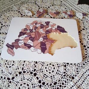 Fából készült puzzle  (mirbach) - Meska.hu