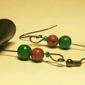 Borostyán fülbevaló, Ékszer, Fülbevaló, Táska, Divat & Szépség, Újrahasznosított alapanyagból készült termékek, Ékszerkészítés, Használt kerékpár gumi belsőből ,kézzel készült egyedi ékszer a Játékosság jegyében.\nHajlított gumi ..., Meska