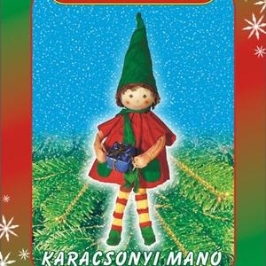 Karácsonyi manó egységcsomag, DIY (Csináld magad), Egységcsomag, Mindenmás, Karácsonyi manó készítése \nA színpompás, könnyen vágható, ragasztható papírszalagok és zsinórok felh..., Meska