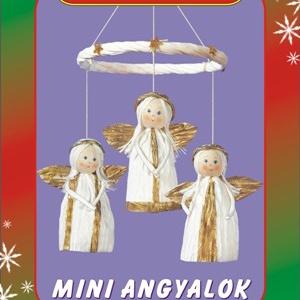Mini angyalok egységcsomag, DIY (Csináld magad), Egységcsomag, Mindenmás, Mini angyalok készítése \nA színpompás, könnyen vágható, ragasztható papírszalagok és zsinórok felhas..., Meska