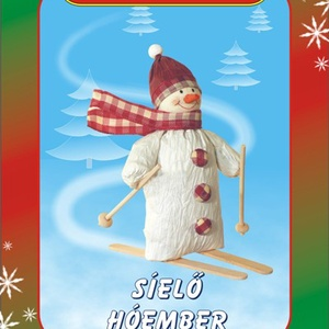 Síelő hóember egységcsomag, DIY (Csináld magad), Egységcsomag, Mindenmás, Síelő hóember készítése \nA színpompás, könnyen vágható, ragasztható papírszalagok és zsinórok felhas..., Meska