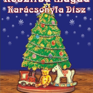Karácsonyi ajándékok - karácsonyfadisz egységcsomag, DIY (Csináld magad), Egységcsomag, Mindenmás, Karácsonyi ajándékok- Karácsonyfadísz egységcsomag, mely könnyen összeállítható, kiszínezhető, kifes..., Meska