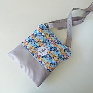 Válltáska/oldaltáska - Barcelona kollekció, Táska, Divat & Szépség, Táska, Válltáska, oldaltáska, Varrás, Ebbe a kisméretű, extrakönnyű táskába a legfontosabb dolgok pont beleférnek. Vízlepergető anyagokból..., Meska