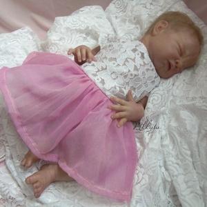 Alkalmi ,keresztelő kislány ruha  62- es méret (Mkkata) - Meska.hu