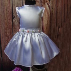 Alkalmi , keresztelő kislány ruha 62- es méretben  (Mkkata) - Meska.hu
