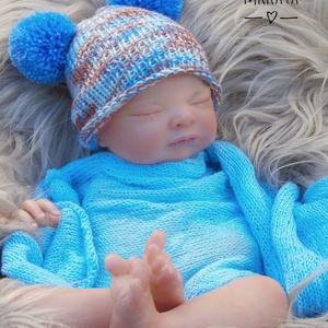 Kötött baba sapka 0-2 hónapos méret , Gyerek & játék, Táska, Divat & Szépség, Gyerekruha, Ruha, divat, Baba (0-1év), Kötés, Kézzel kötött  babasapka\nMérete : 0-2 hó\nSapka : 34-38 cm- es fejméretig  \n \nAnyaga:  baba barát acr..., Meska