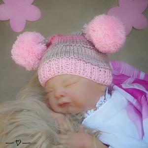Kötött baba sapka 0-2 hónapos méret , Gyerek & játék, Táska, Divat & Szépség, Gyerekruha, Ruha, divat, Baba (0-1év), Kötés, Kézzel kötött  babasapka Egyedi darab \nMérete : 0-2 hó ( 56- os méret ) \n34-38 cm- es fejméretig  \n ..., Meska