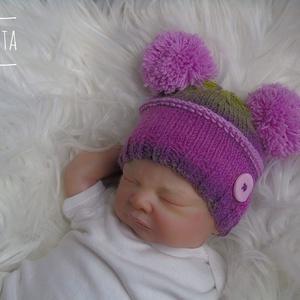 Kötött baba sapka 0-3 hónapos méret , Gyerek & játék, Táska, Divat & Szépség, Gyerekruha, Ruha, divat, Baba (0-1év), Kötés, Kézzel kötött  újszülött sapka \nMérete : 0-3 hó \n\nAnyaga:\nbaba barát akril  fonal\n\nA termék készlete..., Meska