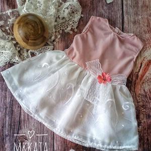 Alkalmi ,keresztelő kislány ruha 74 es méret , Keresztelő ruha, Babaruha & Gyerekruha, Ruha & Divat, Varrás,   Alkalmi-   keresztelő kislány ruha\n Mérete :74-es\nMellbősége :51cm\nTeljes hossza :42 cm \n \n  \n \n ..., Meska