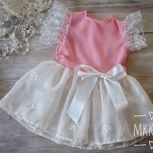 Alkalmi ,keresztelő kislány ruha 68-as méret , Keresztelő ruha, Babaruha & Gyerekruha, Ruha & Divat, Varrás,   Alkalmi-   keresztelő kislány ruha\n68-as méret \n \n \n \n  \n \n , Meska